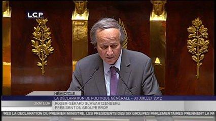 Le groupe RRDP vote la confiance au gouvernement Ayrault