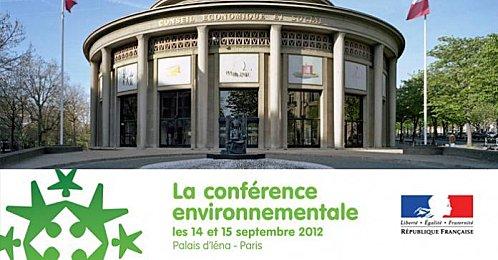 Jacques Krabal participe à la conférence environnementale