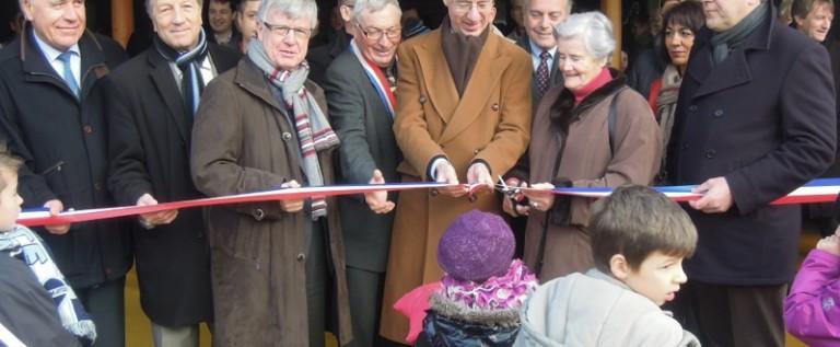 Inauguration de l'école de Longueval-Barbonval