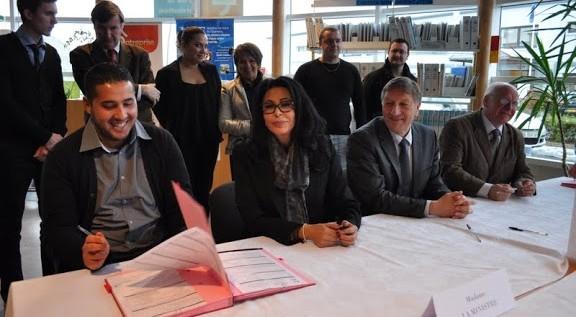 Contrats d'avenir : Yamina Benguigui à Château-Thierry