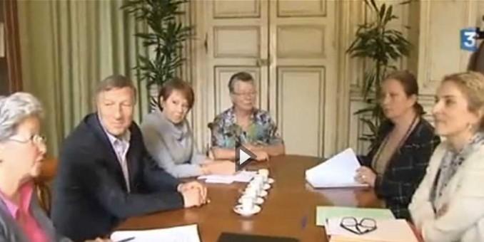 Rendez-vous avec Delphine Batho : reportage France3