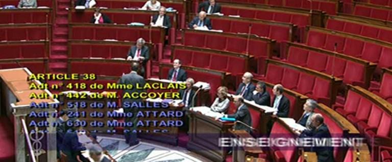 """Libération – """"Loi Fioraso: le vote de l'Assemblée Nationale"""""""