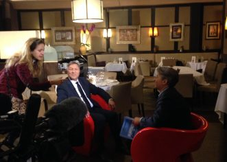 Interview sur la transparence de la vie publique – Complément d'enquête