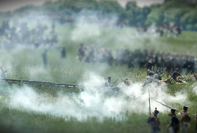 Reconstitution de la bataille de Montmirail