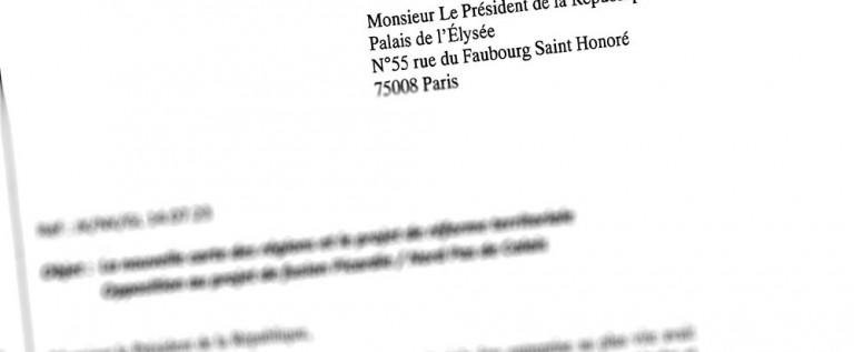 Régions : demande d'entretien auprès de Valls et Hollande