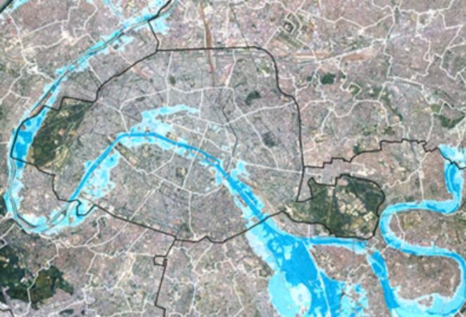 Inondation de Paris : un cas atypique à surveiller