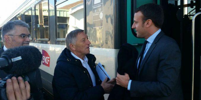 France3 – Visite d'Emmanuel Macron à Château-Thierry