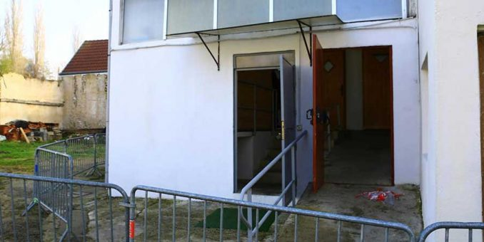 CP – Tentative d'incendie de la salle de prière