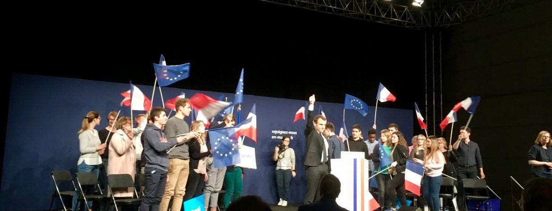 Retour sur le meeting d'Emmanuel Macron à Reims, vendredi 17 mars