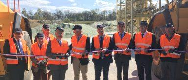 Inauguration des nouveautés de l'usine Everglass à Rozet Saint Albin: promesses tenues!