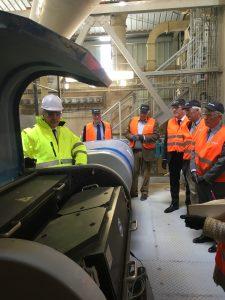 Visite usine Verallia