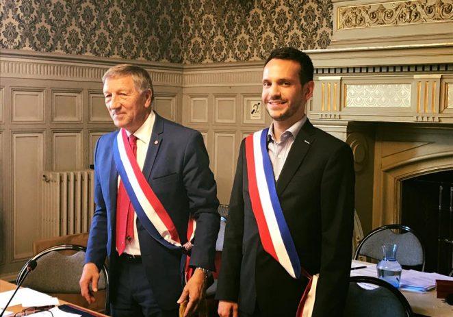 Félicitations à Sébastien Eugène, le nouveau maire de Château-Thierry!