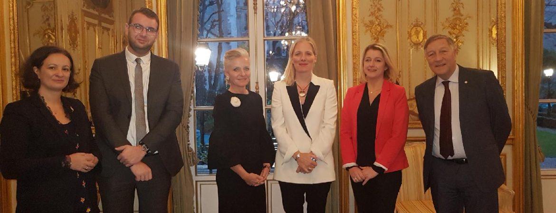 Rencontre avec Catherine Mc kenna, Ministre de l'Environnement et du Changement climatique du Canada