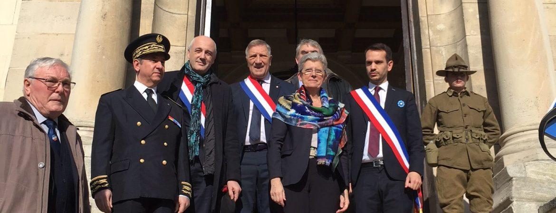 Retour sur la visite de Geneviève Darrieussecq, Secrétaire d'Etat aux Armées, à Château-Thierry