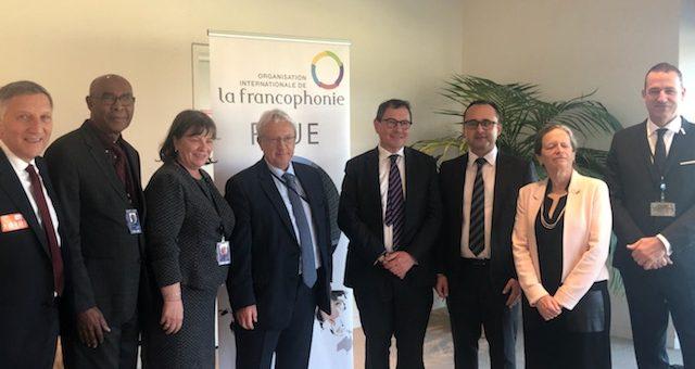 Jacques Krabal, secrétaire général parlementaire de l'APF a rencontré des parlementaires francophones au Parlement européen